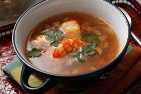 Рецепт - Рыбный суп
