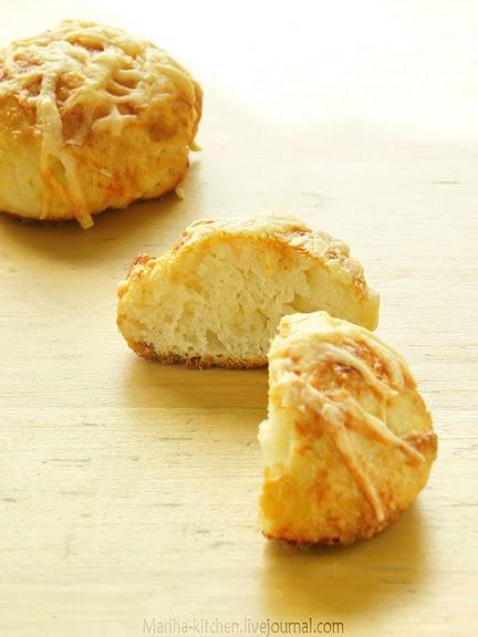 Рецепт - Сырные булочки