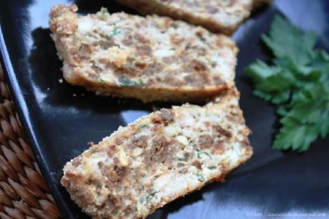 Рецепт - Террин с курицей и кедровыми орехами