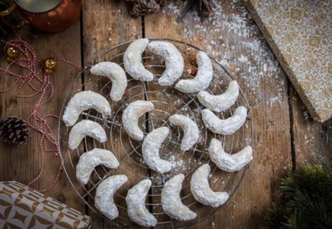 Ванильные рогалики