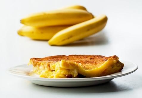 Гренки с бананом