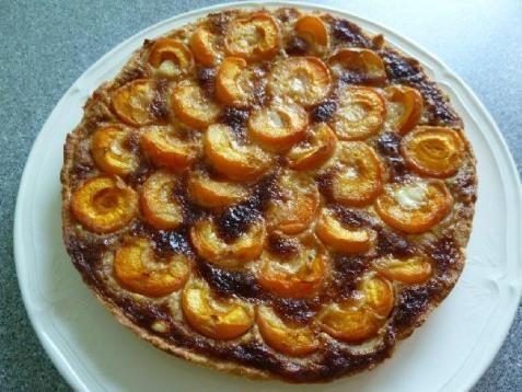 Рецепт - Абрикосовая тарталетка