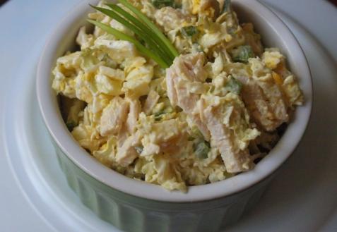 Рецепт на Новый год: Салат из пекинской капусты с курицей