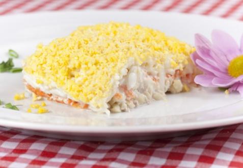 Рецепт к 8 марта: салат