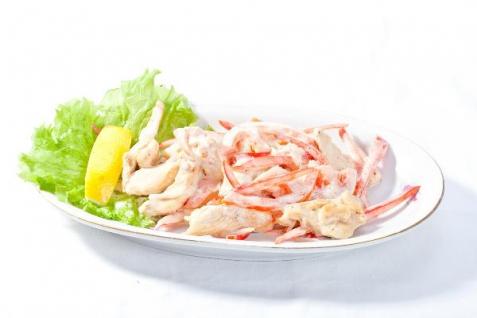 Рецепт - Салат с курицей