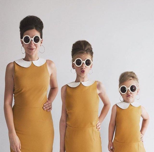 Потрясающая фотосессия мамы с дочерьми. от allthatisshe