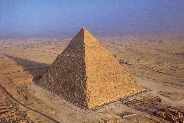 Египетская пирамида - древний храм