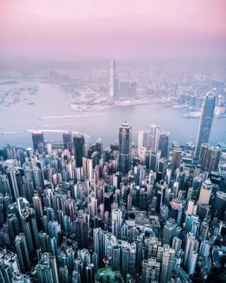 Архитектор показал, как выглядит мир с высоты птичьего полета. Фото