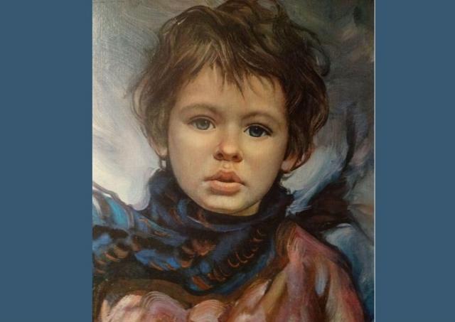 Портрет мальчика от Франсиско Массерии.  Фото: pinterest.com