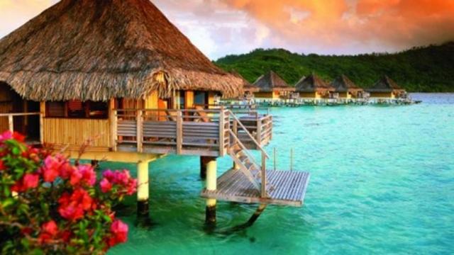 Шикарные места для отдыха, на обои для рабочего стола