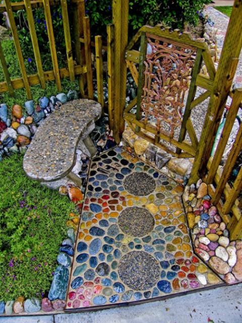 как украсить дом мозаика -12