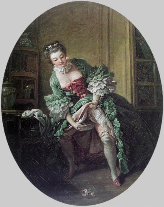 Франсуа Буше. «Интимный туалет», 1760-е гг.