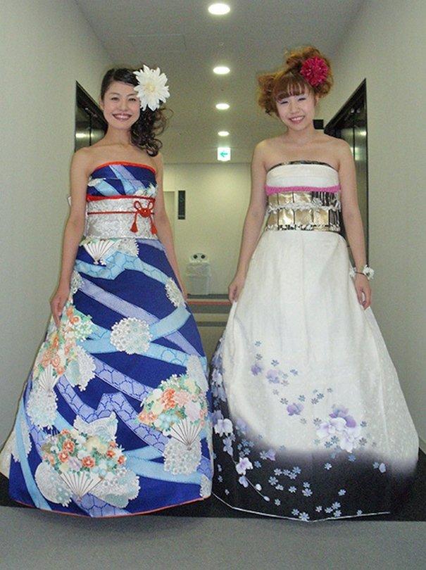 """Результат пошуку зображень за запитом """"Японские невесты в оригинальных свадебных платьях - фото."""""""
