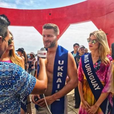 Украинец победил в международном конкурсе красоты. Фото