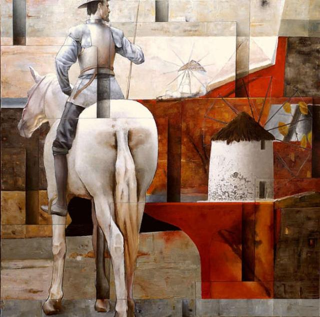 Дон Кихот. Автор: Sergio Cerchi.