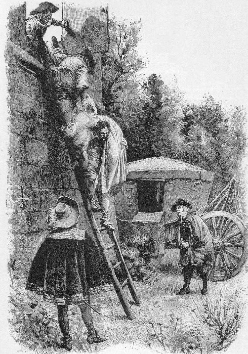 «Похищение». (1894). Автор: Морис Лелуар.