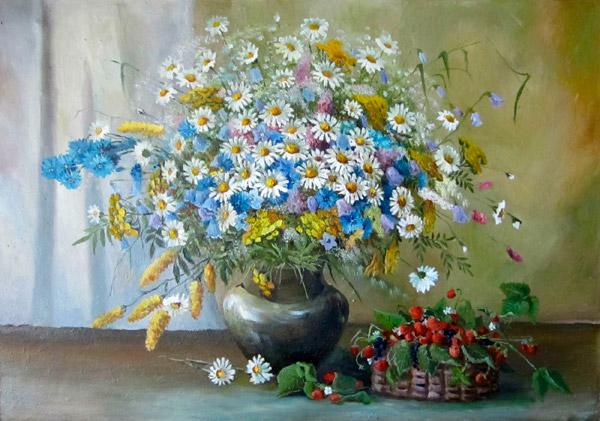 """Результат пошуку зображень за запитом """"Букеты цветов в живописи."""""""