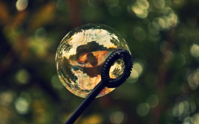 Фото с различными пузырьками, на обои для рабочего стола