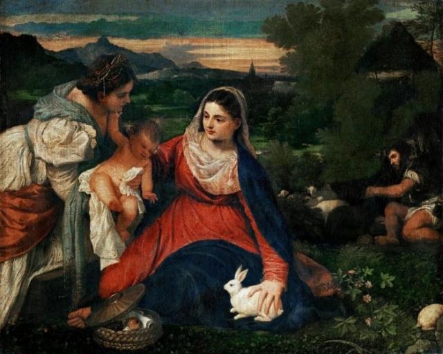 художник Тициан (Titian) картины – 11