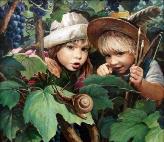 художник Владислав Леонович картины - 06