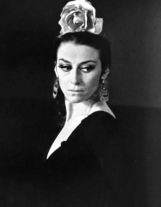 Майя Плисецкая - российская и советская артистка балета. | Фото: upload.wikimedia.org.