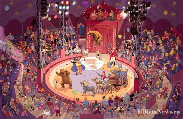 Самые любопытные факты о цирке