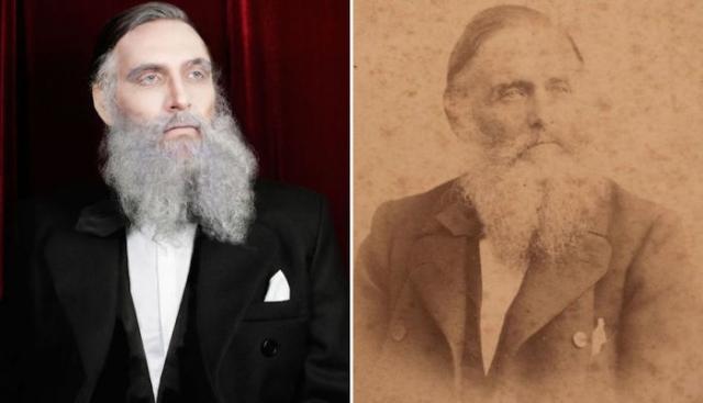 Для создания этого образа Кристиан специально отрастил бороду.