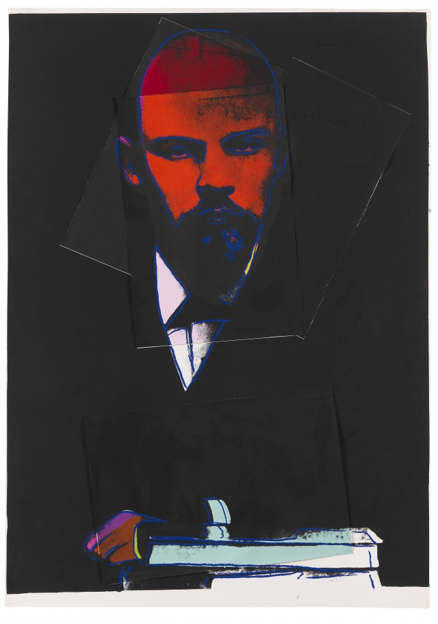 ANDY WARHOL. Lenin. 1987.jpg