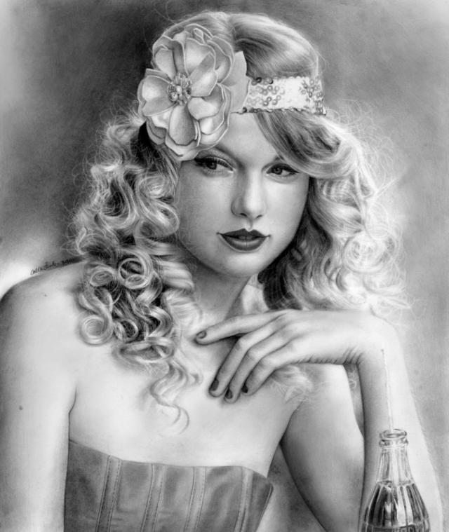 Фото: Невероятно реалистичные рисунки карандашом юной художницы из США (Фото)