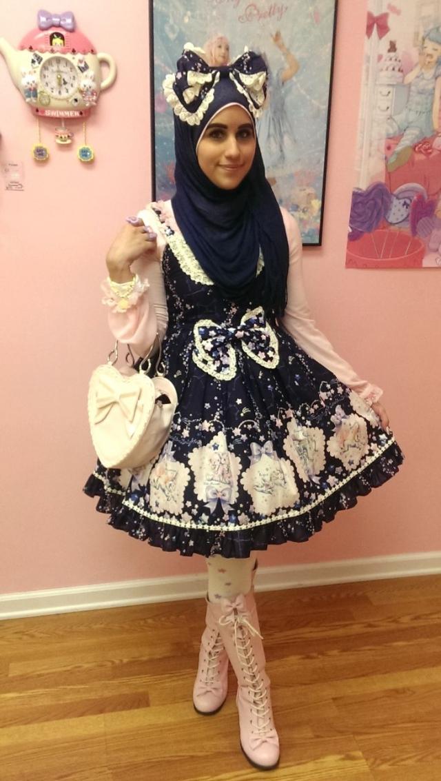 Фото: Мусульманские красавицы, которые одеваются, как девушки в Японии (Фото)