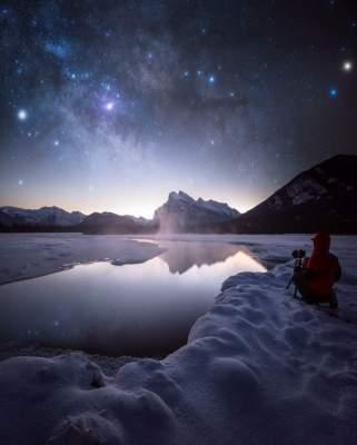 Звездное небо в объективе талантливого канадца. Фото