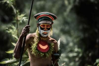 Необычные традиции коренных жителей Папуа-Новой Гвинеи. Фото