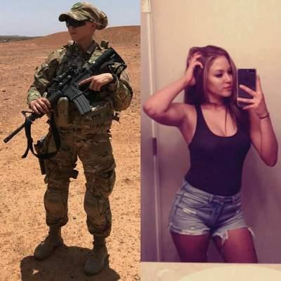 Очаровательные дамы, служащие в армиях и полиции разных стран. Фото