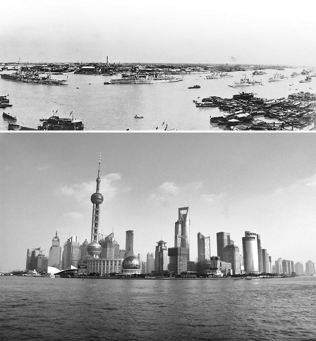 За 100 лет из простой рыбацкой деревушки превратился в крупнейший мегаполис.