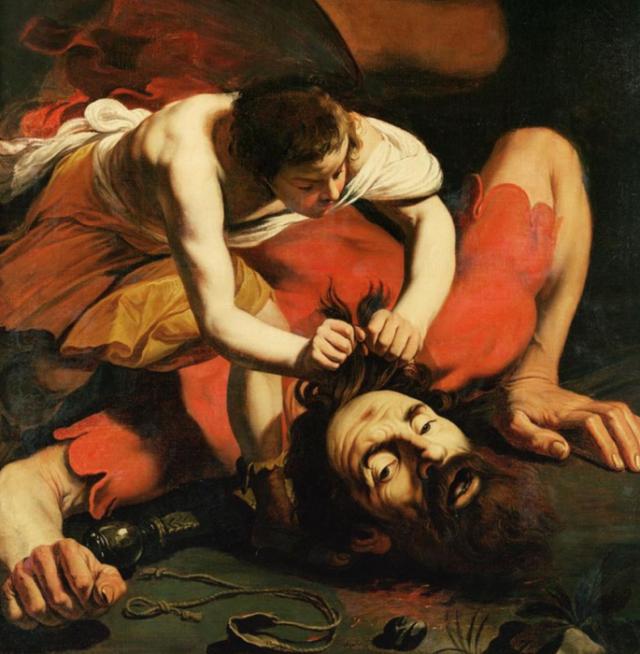 Давид с главой Голиафа (1610) Караваджо