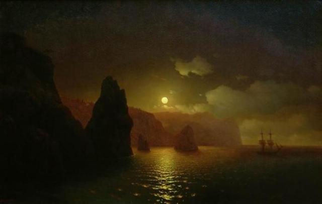 Ночь в Венеции. 1861г.