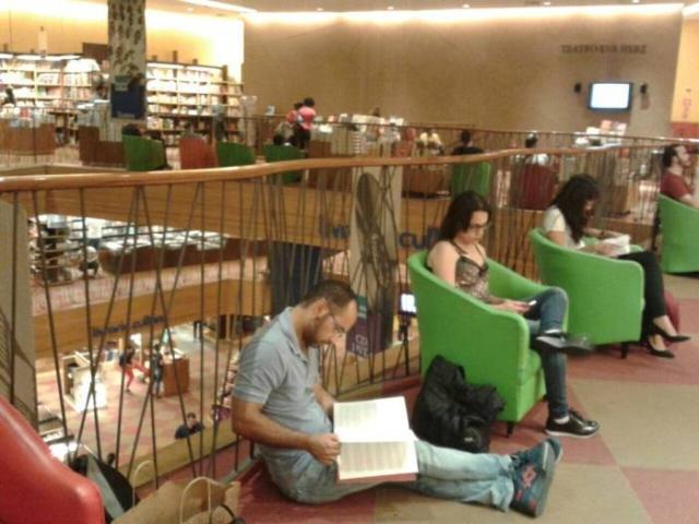 Книжный магазин в Сан-Паулу.