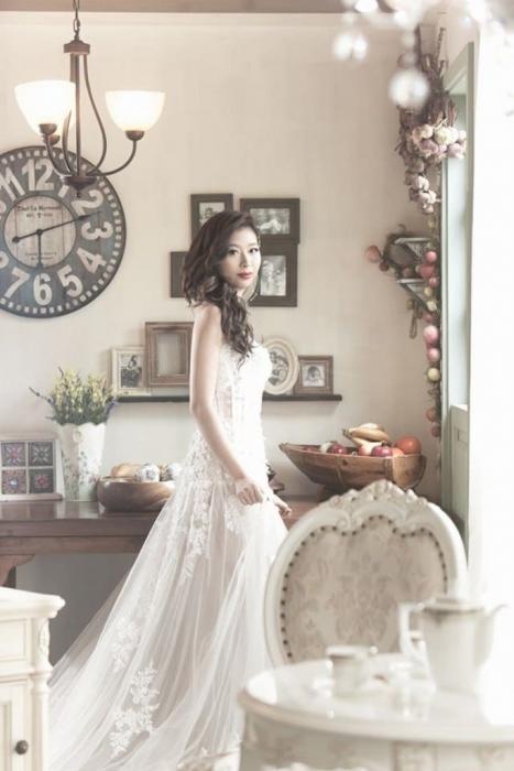 Очаровательная свадебная фотосессия.