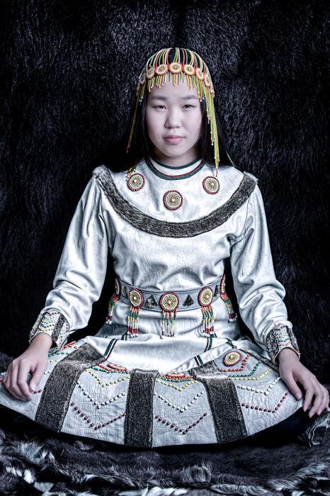 Чукотская девочка. Автор: Александр Химушин.