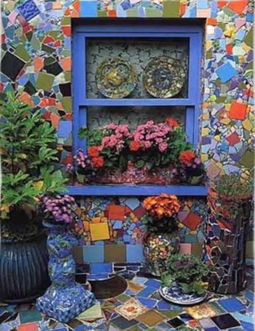 как украсить дом мозаика -03