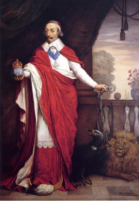 «Арман-Жан-Дюплесси, герцог де Ришелье, кардинал и государственный министр Франции», Бернхарда Брокер. / Фото: www.ulrich-menzel.de