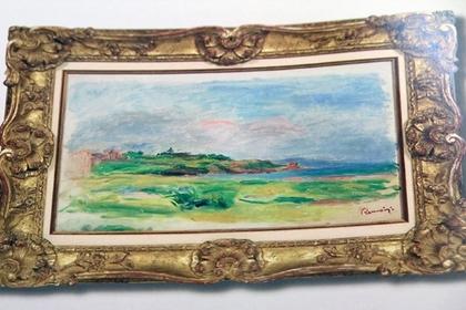 Пьер Огюст Ренуар. «Залив, море, зеленые скалы»