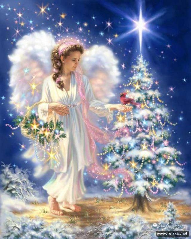 Фото: Рождественское волшебство в картинах американской художницы (Фото)