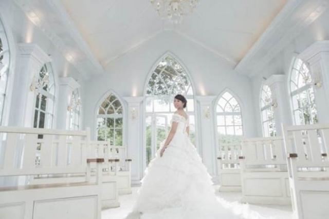 Кью Мей Чен почувствовала себя настоящей невестой.