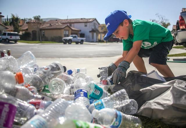 Райан Хикман к семи годам руководит компанией по переработке мусора