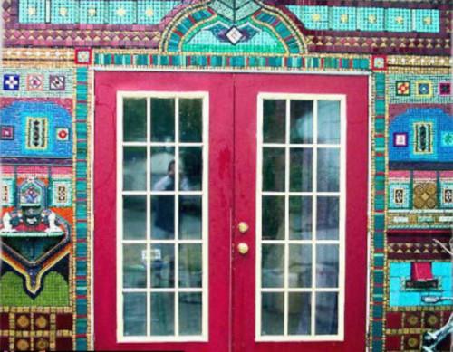 как украсить дом мозаика -02