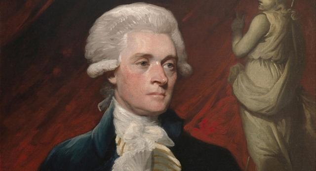 Томас Джефферсон - президент-рабовладелец.