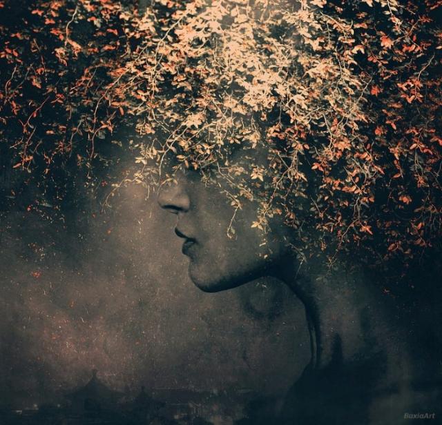 Таинственная незнакомка. Автор: Barbara Florczyk.