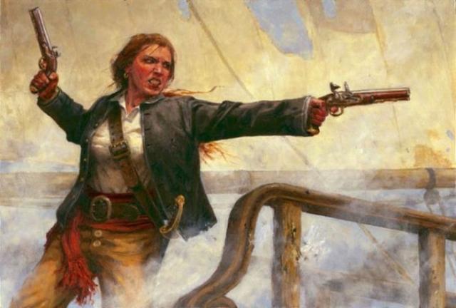 Пиратка Энн Бонни. | Фото: labrujulaverde.com.