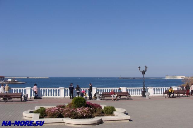 Севастополь, бухта, Чёрное море.